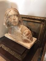 Joan of Arc Henri Chapu után, Márvány Mell szobor
