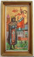 Kondor Béla - Liberius című festménye