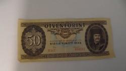 50 forintos bankjegy - 1986 D587