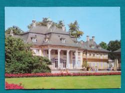 Németország,Drezda,Pillnitz-kastély ,postatiszta képeslap