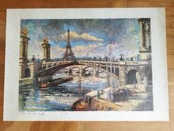 Yvo: Paris - La Tour Eiffel nyomat
