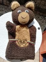 Misa maci 80-as évek moszkvai olimpia kabala figurája