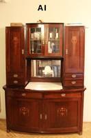 Art deco vintage tálaló szekrény