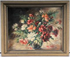 Zsolnay Júlia (1856-1950) Virág csendélet, 1920