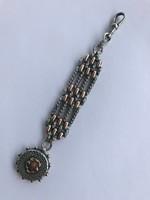 Arany &ezüst tiszti zsebóra lánc