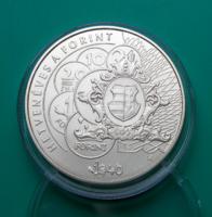 2016 – 70 éves a forint 2000 Ft BU színesfém emlékérme - Kapszulában - MNB ismertetővel, certivel