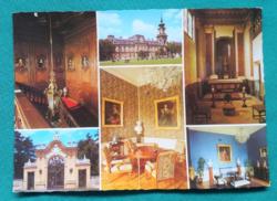 Magyarország,Keszthely,Festetics-kastély,postatiszta mozaikképeslap,1985