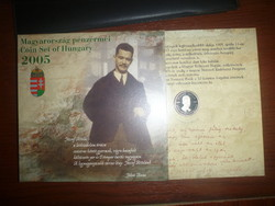 Dísztokos József Attila forgalmi sor 2005-ből  eladó!UNC PP