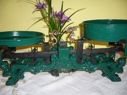 Hercz testvérk gyárában készült angyakás 10 kg-s  mérleg HIBÁTLAN !