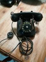 Régi,retro bakelit tárcsás telefon