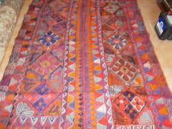 Antik nomád Suzani,  beduin Arabi Kilim esküvői takaró, szőnyeg