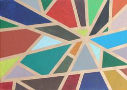 Kortárs, modern festő: Kompozíció vonalakkal