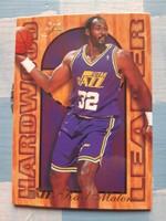 1994/95 Karl Malone Hardwood Leader kosárlabda kártya (Flair)