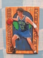 Christian Leattner Hardwood Leader kosárlabda kártya (Flair, 1994/95 insert)