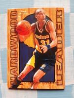 Reggie Miller Hardwood Leader kosárlabda kártya (Flair, 1994/95 insert)