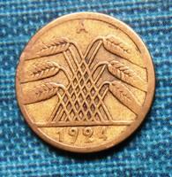 Régi német 5 Rentenpfennig  1924 A