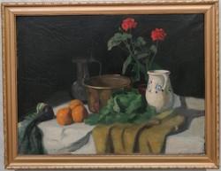 Macalik Alfréd (1888-1979) Csendélet