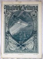 I.Világháborús német nyelvű képes újság, 1916 április ,32 oldal.