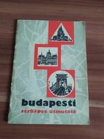 Budapesti térképes útmutató 1968-ból