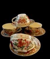 Zsolnay Bambusz mintás -Mokkás csészék