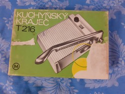 Mechanika T- 216 konyhai szeletelő ÚJ! -  Retro eszközök és gépek