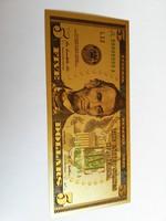 Plasztik 5 dollár