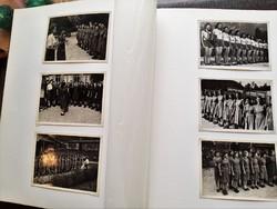 2. Vh-s német leány Arbeitsmaid Reicharbeitsdienst RAD fotóalbum 169 fotóval