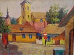 Ujváry Lajos(1925-2006): Szentendre