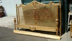 Antik Francia ágy, váz.