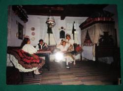 Decsi népviselet - postatiszta  képeslap