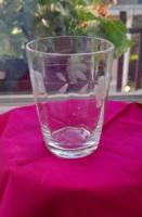 Fújt üveg  pohár pótlásnak