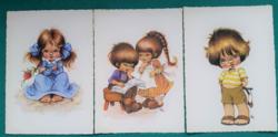 Füzesi Zsuzsa grafikái,postatiszta képeslapok (4)