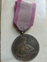 Harmadik Birodalmi,lövész kitüntetés, szalagon