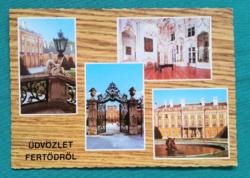 Magyarország,Fertőd,Kastély,postatiszta képeslap