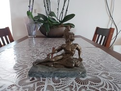 Bronzírozott mitològia szobor eladò!
