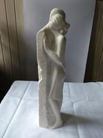 Világhy Kerámiaműhely: Szerelem. Biszkvit porcelán szobor