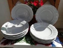 Zsolnay indamintás tányér készlet