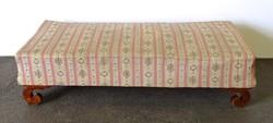 1E765 Antik csigás lábú Biedermeier kanapé 180 cm