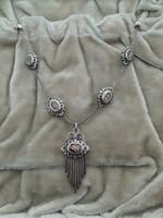 Antik ezüst nyakék / kolié