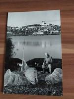 Balaton halászháló javítás