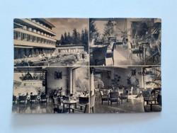 Régi képeslap 1958 Kékestető Szanatórium részletek levelezőlap