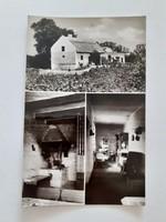 Régi képeslap 1967 Balatonfüred Baricskai Halászcsárda levelezőlap