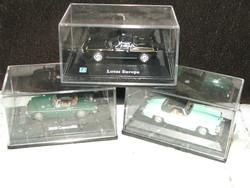 Hongwell fém retro mini auto modell 3 db