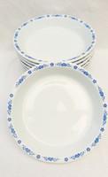 Alföldi porcelán  kék magyaros főzelékestányér