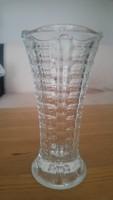 Régi szép  üveg váza
