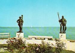 Ba 088 Színes körkép a Balaton vidékről a XX.század közepén .Balatonfüred