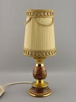 Kerámia kézzel készített asztali lámpa, Olaszország