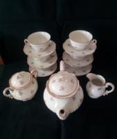 Zsolnay 6 személyes teás készlet