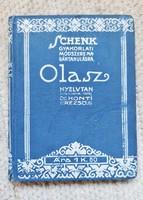 Dr Honti Rezső - Olasz nyelvtan (Schenk kiadás)