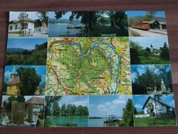 Dunakanyar, mozaik képeslap